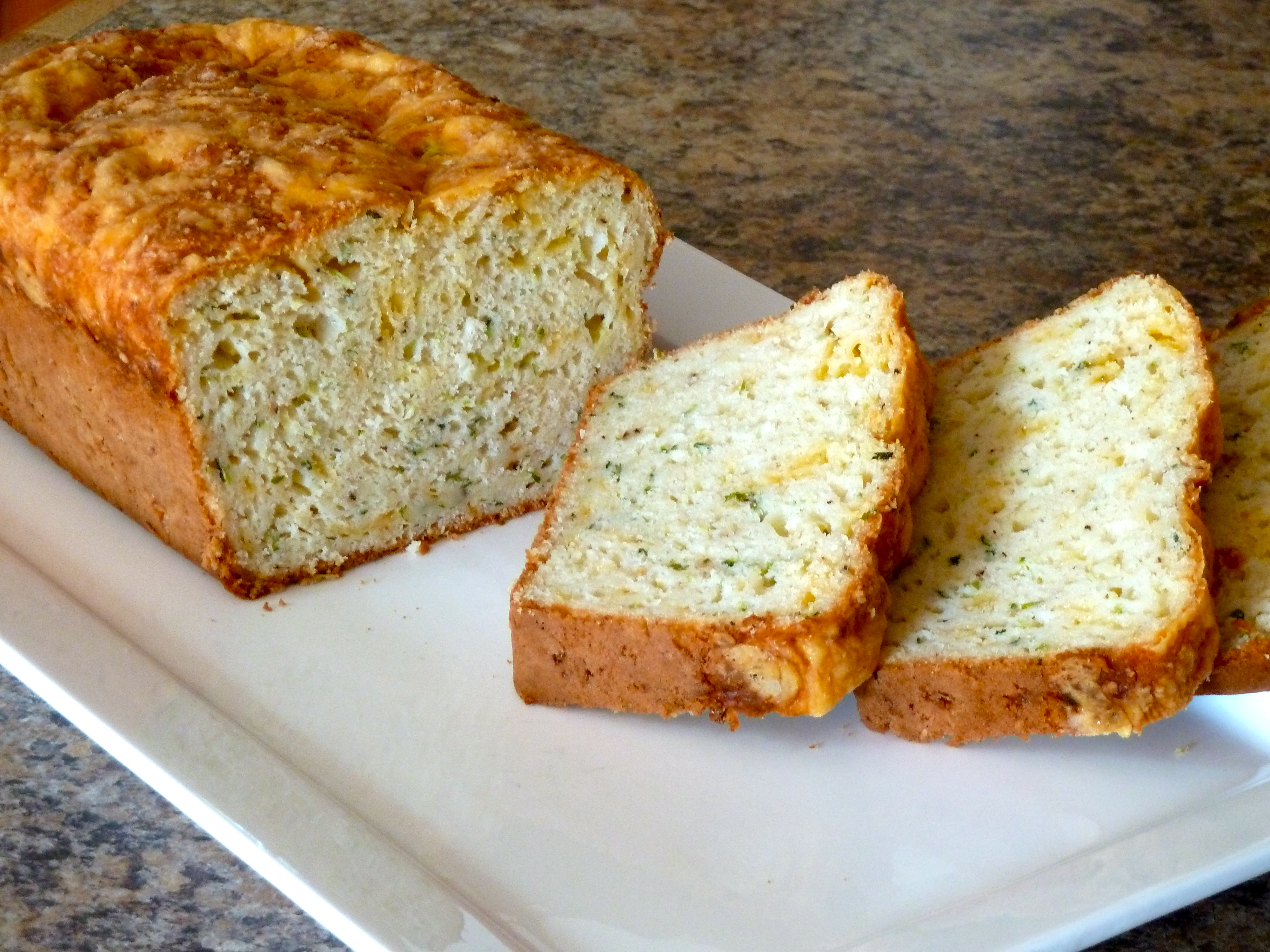 Zucchini Cheese Bread | Scrumptious and Sumptuous