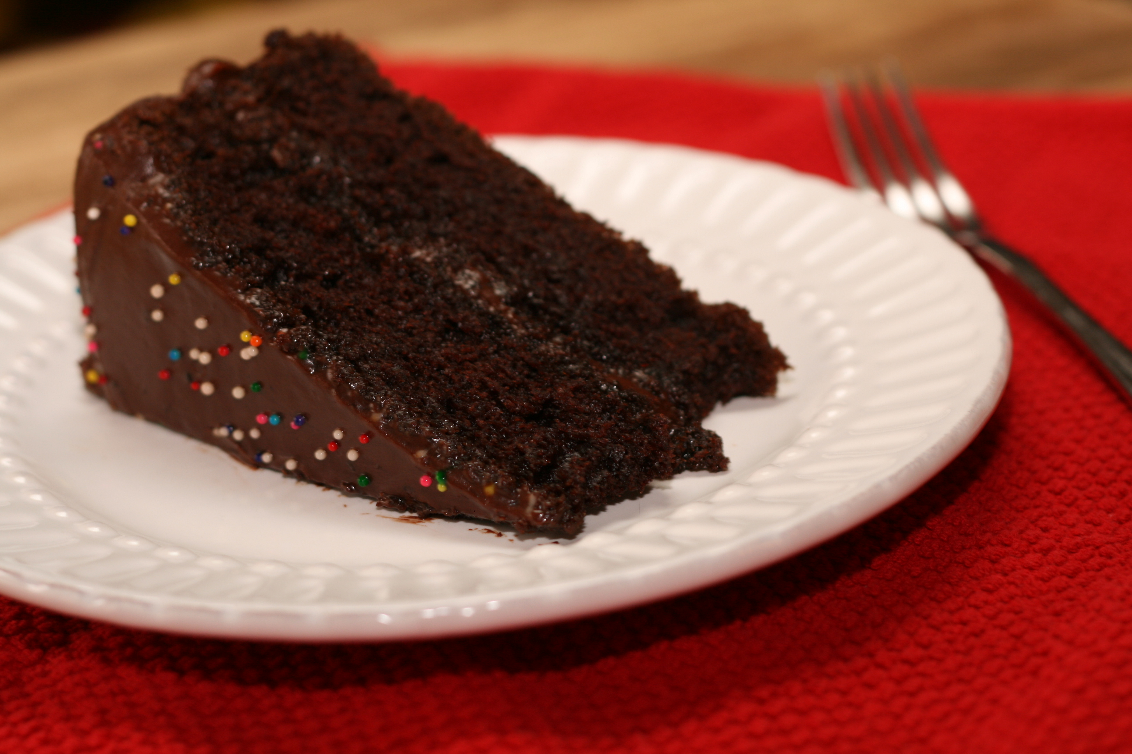 ... hershey s chocolate cake with perfectly chocolate chocolate frosting