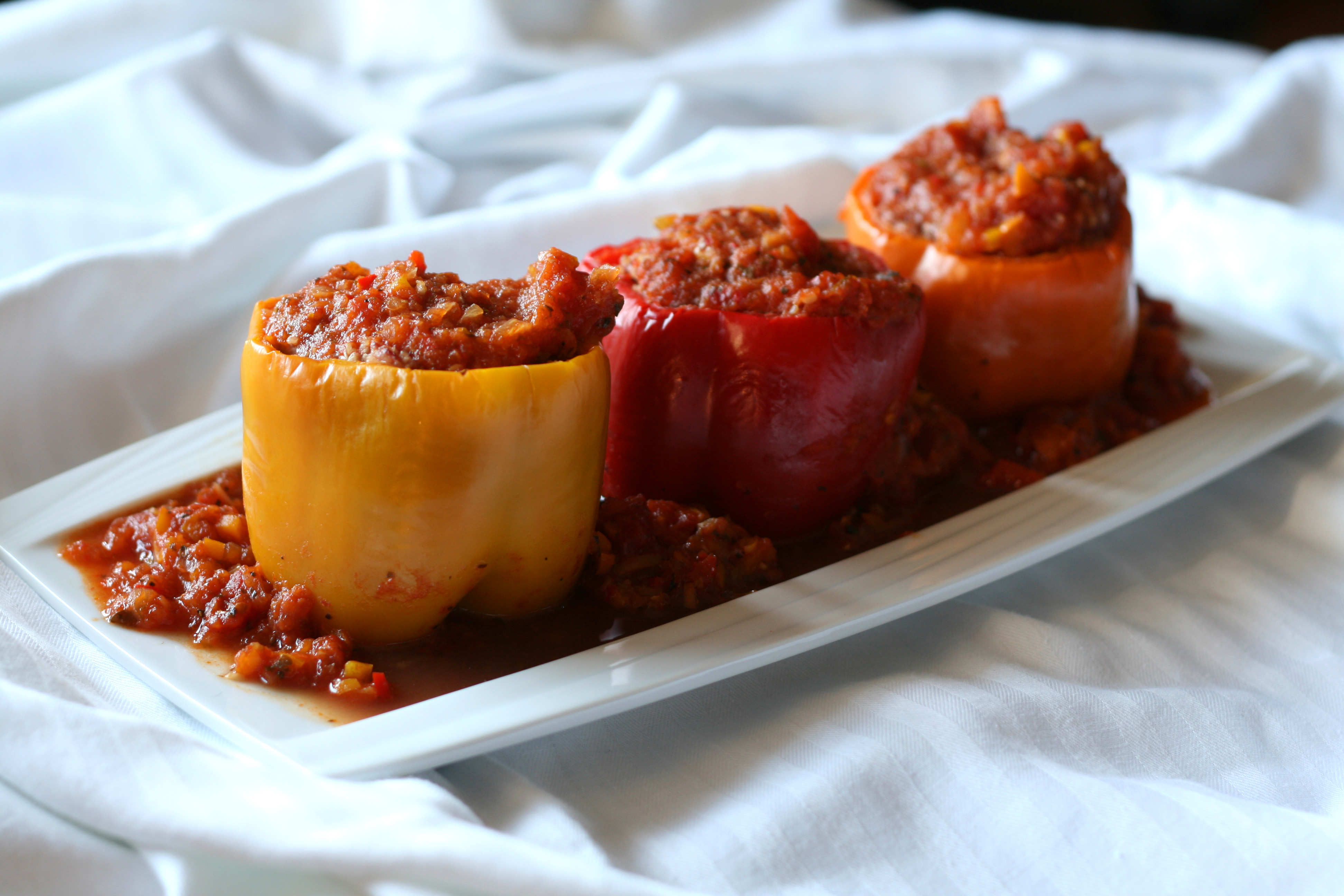 love my mom s stuffed bell peppers i always thought they took a ton ...