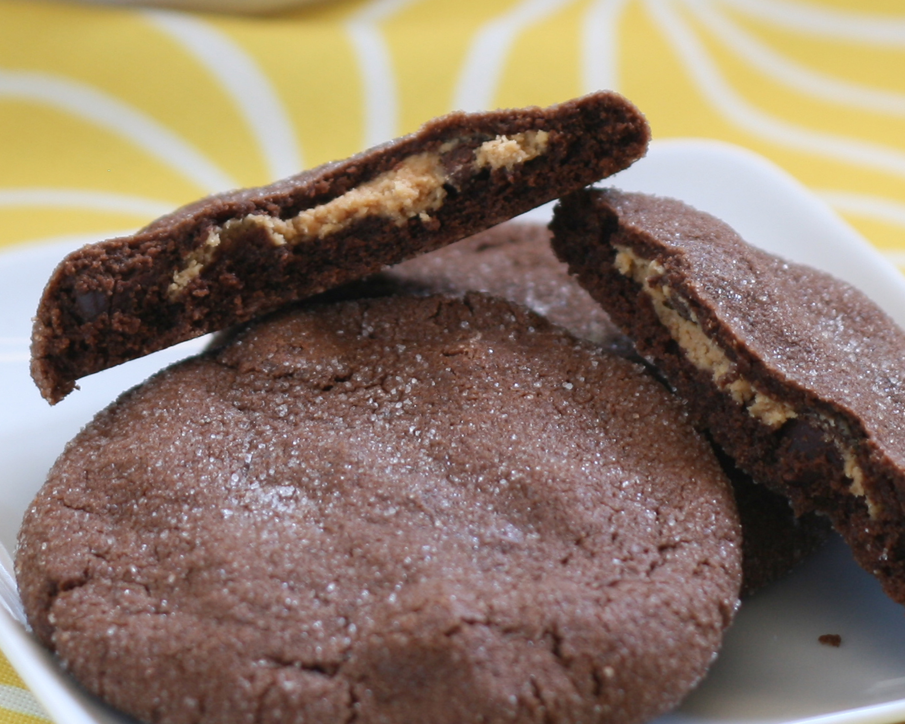 ... middles recipe yummly magic in the middles peanut butter and chocolate