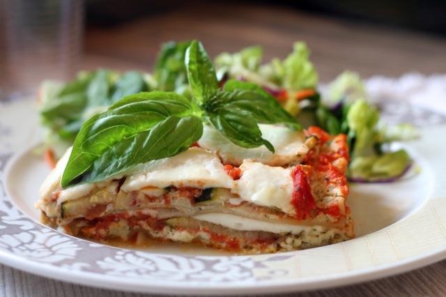 Pesto Zucchini Lasagna