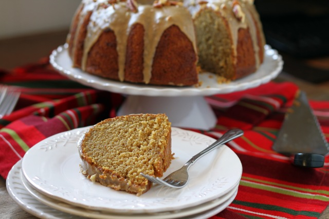 Pumpkin Buttermilk Pound Cake