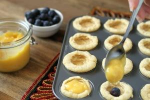 Lemon Cup Cookies