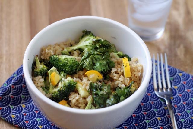 Veggie Bowl with TahiniDressing2