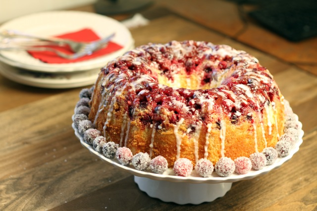 Lemon Cranberry Cake 2